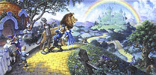 Click for more details of Wizard of Oz (cross-stitch pattern) by Heaven and Earth Designs