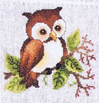 Click for more details of Woodland Babies (cross-stitch pattern) by Stoney Creek