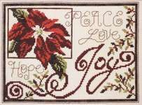 Click for more details of Words of Christmas (cross-stitch) by Stoney Creek