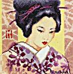 Click for more details of Yokohama Beauty (cross-stitch kit) by Vervaco