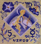 Click for more details of Zodiac Embroidery (paperback) by Sylvia Drinkwater