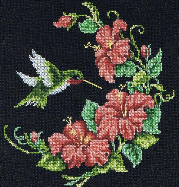 Hummingbird Cross Stitch Pattern By Dimensions