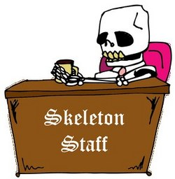 skeleton staff