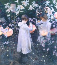 John Singer Sargent - Carnation, Lily, Lily, Rose (1885-6)