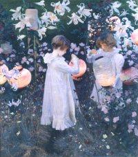 John Singer Sargent - Carnation, Lily, Lily, Rose (1885-6)
