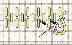 Alternating stitch - click to enlarge
