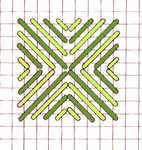 Cushion stitch - click to enlarge