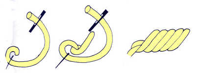 Rope stitch - click to enlarge