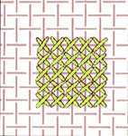 Small scale cross stitch - click to enlarge