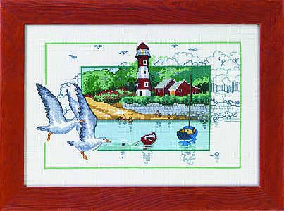 Lighthouse landscape - click for larger image