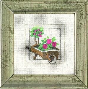 Garden wheelbarrow - click for larger image