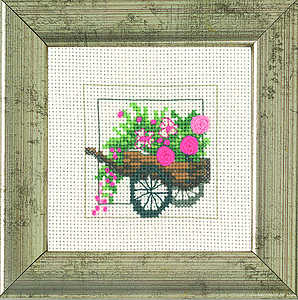 Garden flower cart - click for larger image