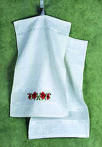 Poppies towels (2 in pack) (30 x 50 cm) - click for larger image