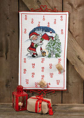 Santa's List Advent Calendar - click for larger image