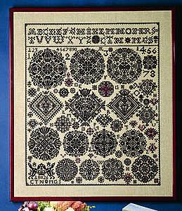 Vierlande 1826 Sampler - click for larger image