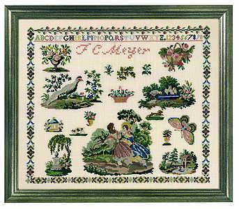 Victorian Sampler - click for larger image