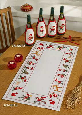 Elves Table Runner - click for larger image