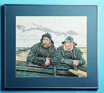 Two fishermen - click for larger image