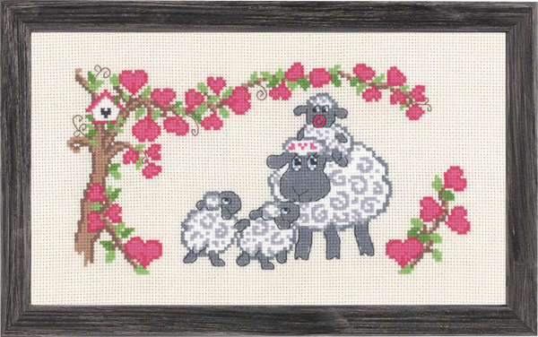 Sheep Family - click for larger image