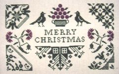 Quaker Christmas by Midnight Stitching
