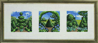 Topiary � three views - click for larger image