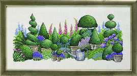 Topiary garden - click for larger image