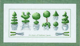 Topiary pots - click for larger image