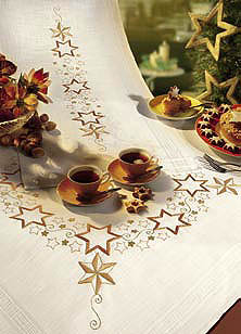 Garland of Stars table runner