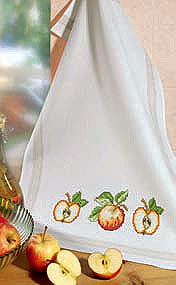 Apple teacloth