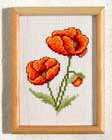 Poppy picture - Counted cross stitch