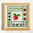 Strawberry picture - Counted cross stitch