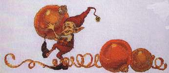 Click for more details of 1,2,3 ... Christmas (cross stitch) by Nimue Fee Main