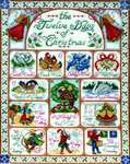 Click for more details of 12 Days of Christmas (cross stitch) by Design Works