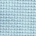 Click for more details of 15 count Aida band in Light Blue (fabric) by Rico Design