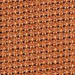 Click for more details of 15 count Aida band in terracotta (fabric) by Rico Design