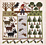 Click for more details of 3 Billy Goats Gruff (cross-stitch pattern) by The Prairie Schooler