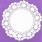 Click for more details of 4 Inch Round White Doilies (paper) by Wilton