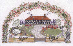 Click for more details of 55 Country Cross Stitch Charts (hardback) by Jane Greenoff