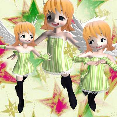 Click for more details of 7 Happy Angels (digital downloads) by DawnsDesigns