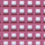 Click for more details of 7 Mesh Plastic Canvas Dusty Rose (fabric) by Darice