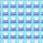 Click for more details of 7 Mesh Plastic Canvas Pale Blue (fabric) by Darice