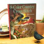 Click for more details of 8-Color Country Cross Stitch (hardback) by Sarah Stevenson