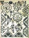 Click for more details of A.H. To E.E. (cross stitch) by Kathy Barrick