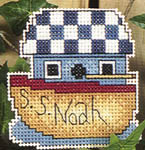 Click for more details of A little bit of Birdsong (cross-stitch pattern) by Alma Lynne