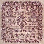 Click for more details of A Love Song (cross-stitch pattern) by Fouroaks Designs