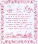 Click for more details of A Mother's Prayer (blackwork) by Classic Embroidery