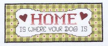 Click for more details of A New Leash on Life (cross stitch) by Stoney Creek