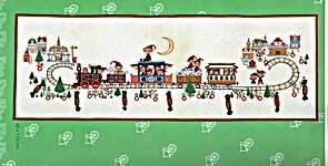 Click for more details of Advent Train (cross stitch) by Eva Rosenstand