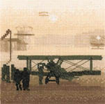 Click for more details of Aerodrome (cross stitch) by Phil Smith