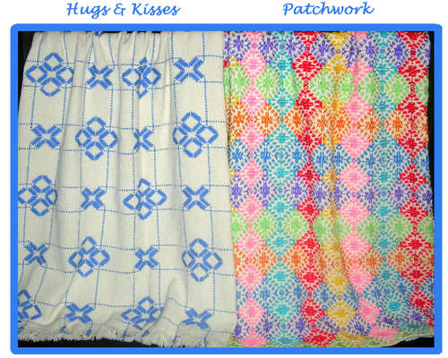 Click for more details of Afghan Creations 1 (swedish weaving) by Swedish Weave Designs